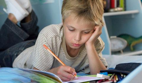 concentración en los niños