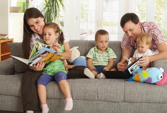 La familia en la educación de los niños