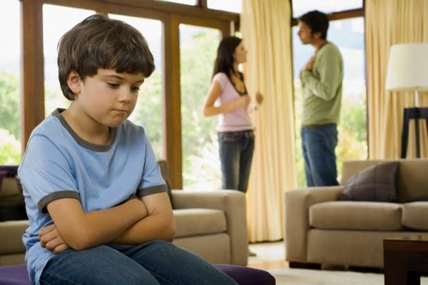 discusiones afectan a niños