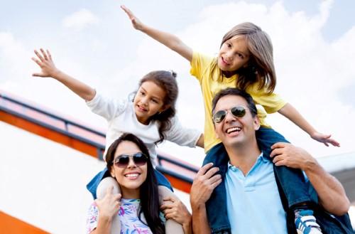 Ventajas de viajar con los niños