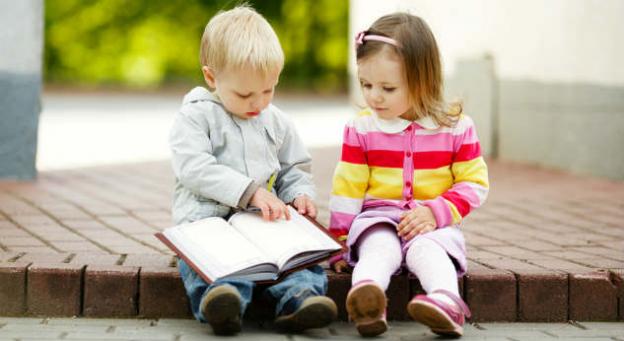 compartir en los niños